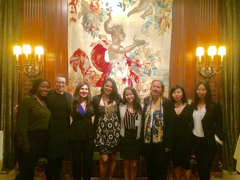 Spring 2017 interns at the New York Public Library