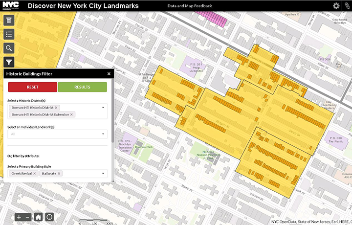 LPC Releases Enhanced Version of Discover NYC Landmarks Map as Part of Its #LoveNYCLandmarks Initiative