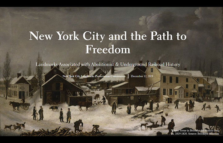 New York City and the Path to Freedom