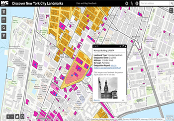 Nyc Map It.Landmarks Preservation Commission