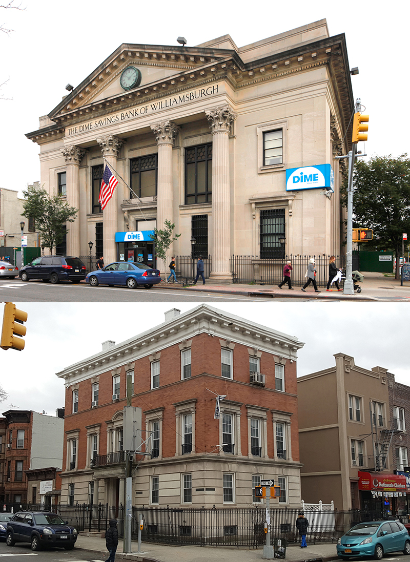 The Dime Savings Bank of Williamsburgh and Dr. Maurice Thomas Lewis House