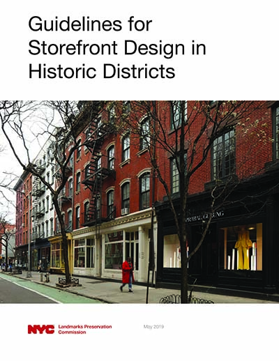 Guidelines for Storefront Design in Historic Districts
