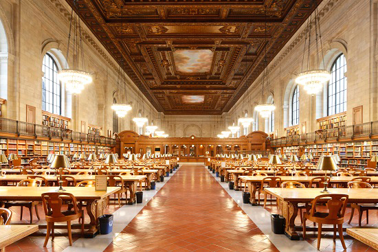 LPC DESIGNATES ICONIC INTERIOR SPACES OF THE NEW YORK PUBLIC LIBRARY, STEPHEN A. SCHWARZMAN BUILDING