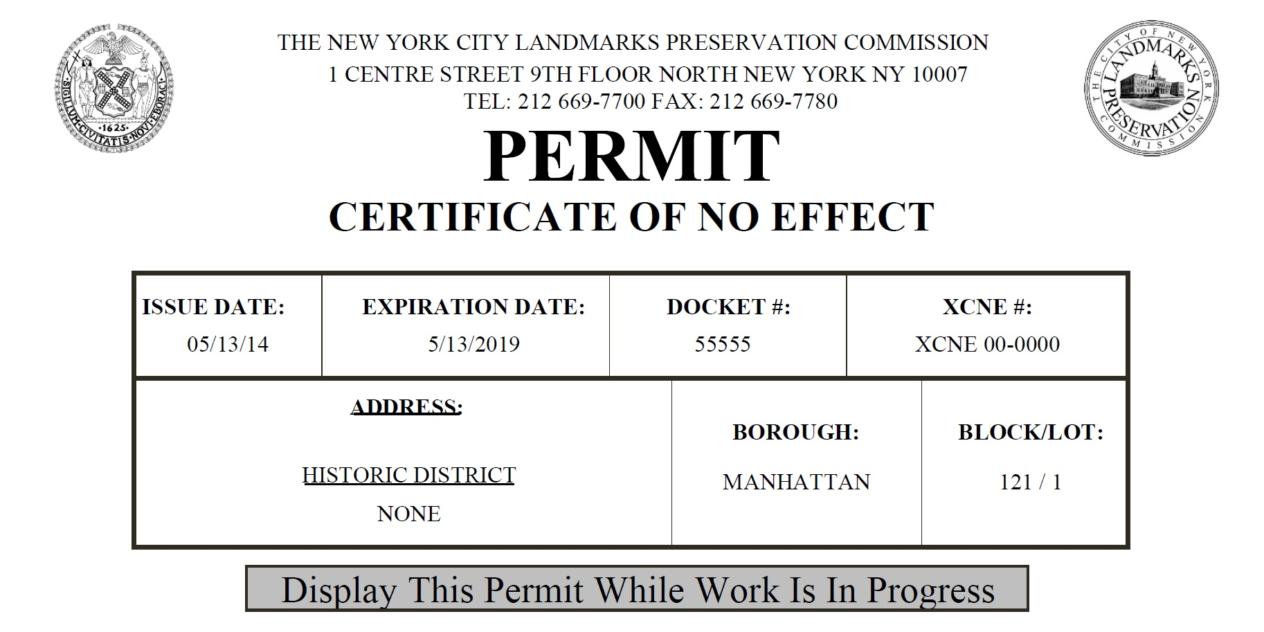 Image result for lpc permits nyc