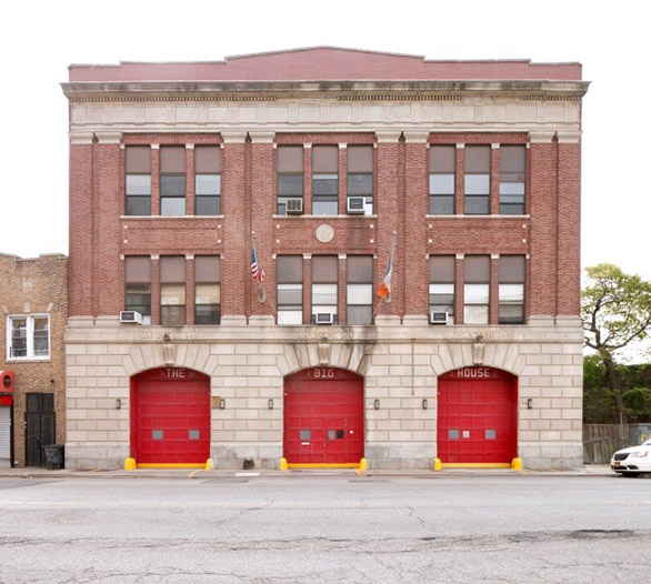 Firehouse, Engine Companies 264 & 328/Hook and Ladder 134 at 16-15 Central Avenue