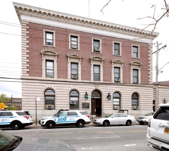 53rd (now 101st) Precinct Police Station at 16-12 Mott Avenue