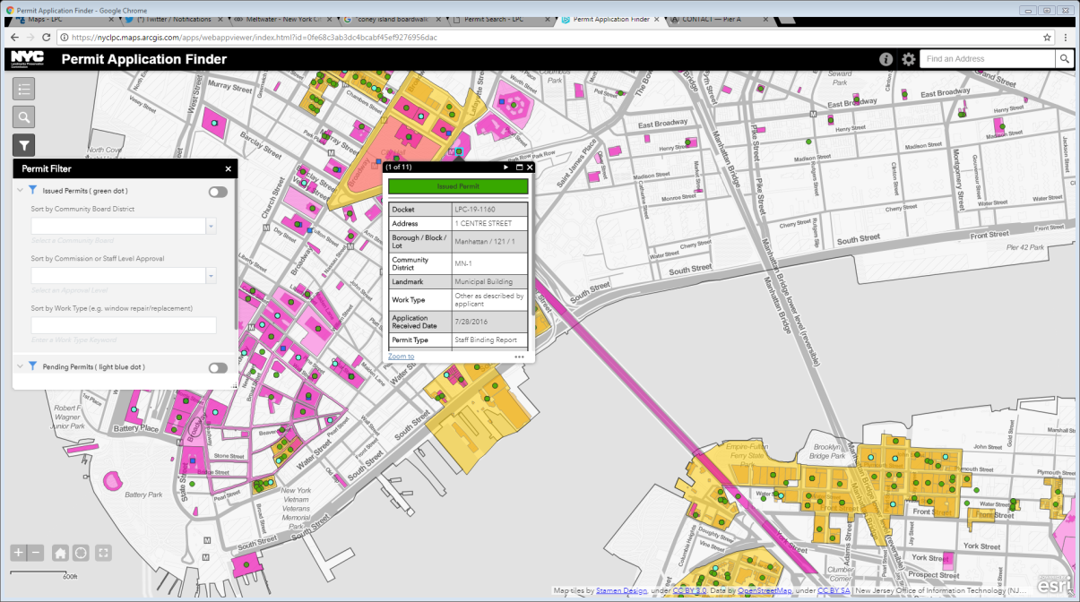 Lpc Launches Interactive Web Map For Permit Applications
