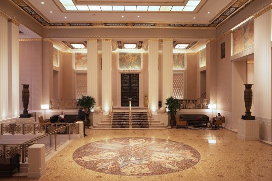 ICONIC INTERIOR SPACES OF THE WALDORF-ASTORIA HOTEL