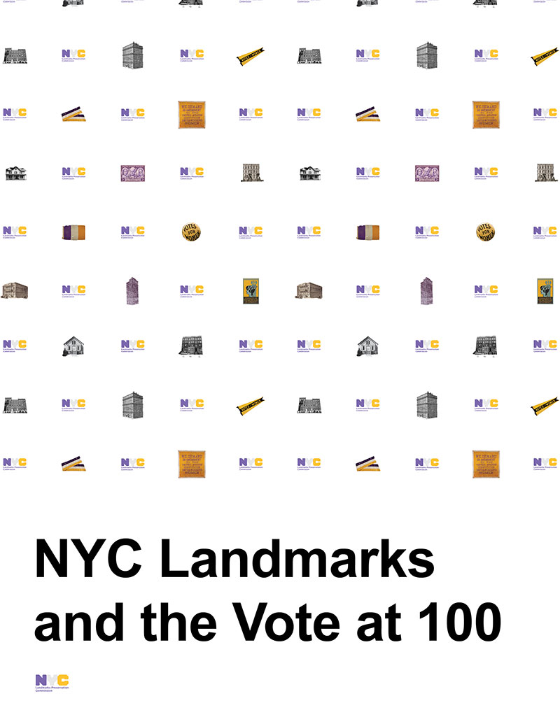 NYC Landmarks and The Vote at 100