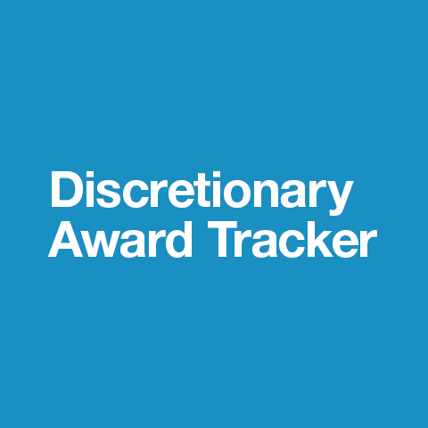 Discretionary Award Tracker