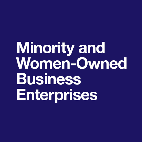 Minority/Women in Business Enterprise (M/WBE)