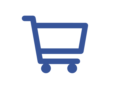 Requistion to Pay - icon of a shopping cart