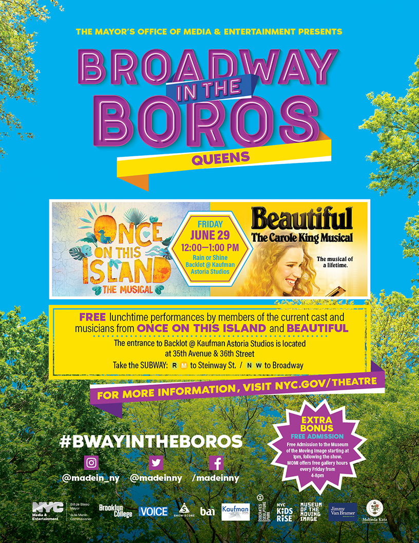 Broadway in the Boros 2018