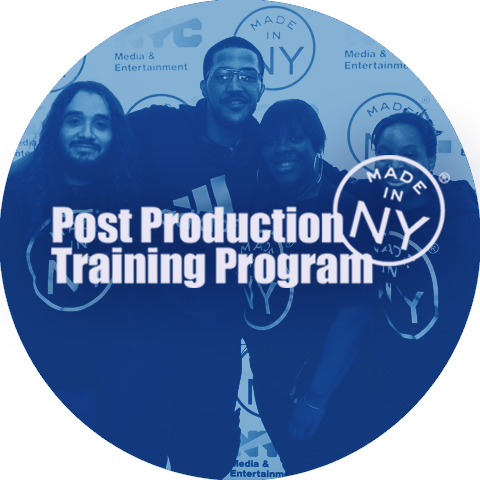 Made in NY Post-Production Training Program