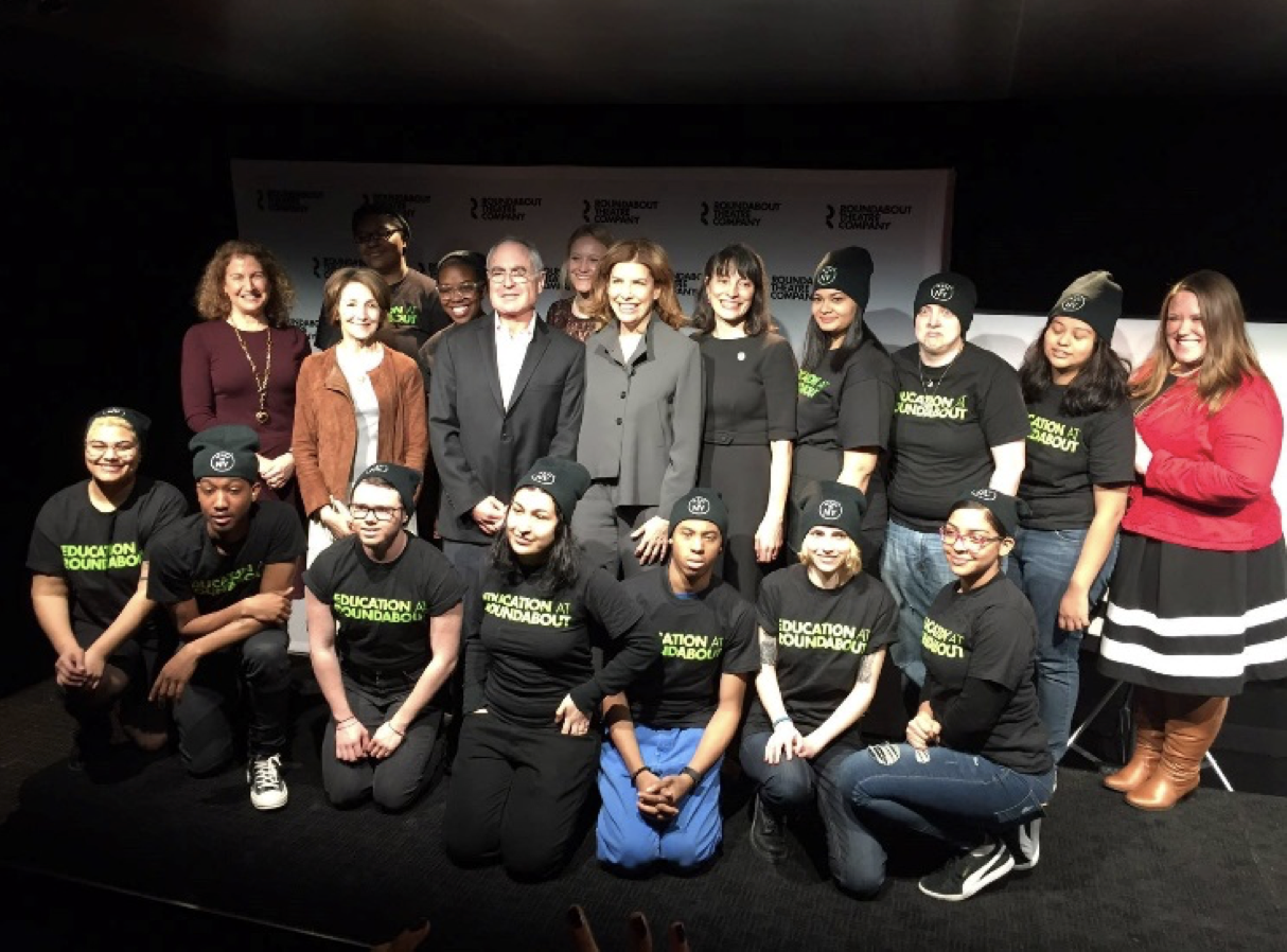 Roundabout theatre IATSE and city launch workforce development program