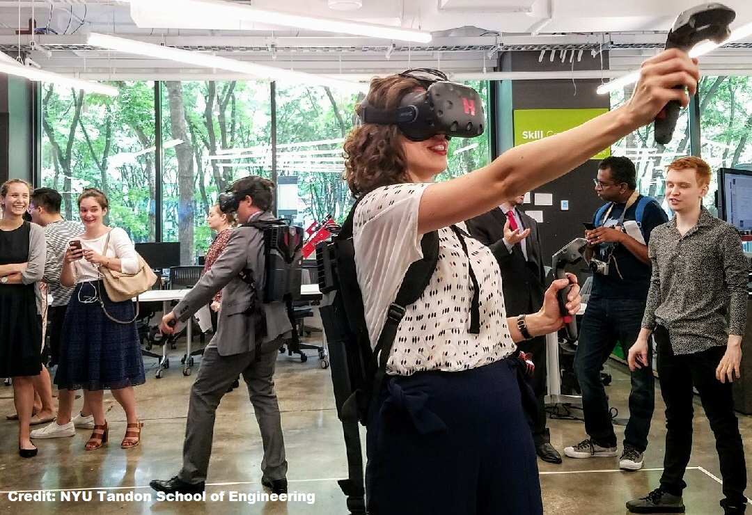 VR/AR lab at Brooklyn Navy Yard
