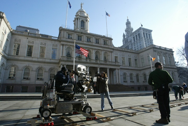 city hall filming