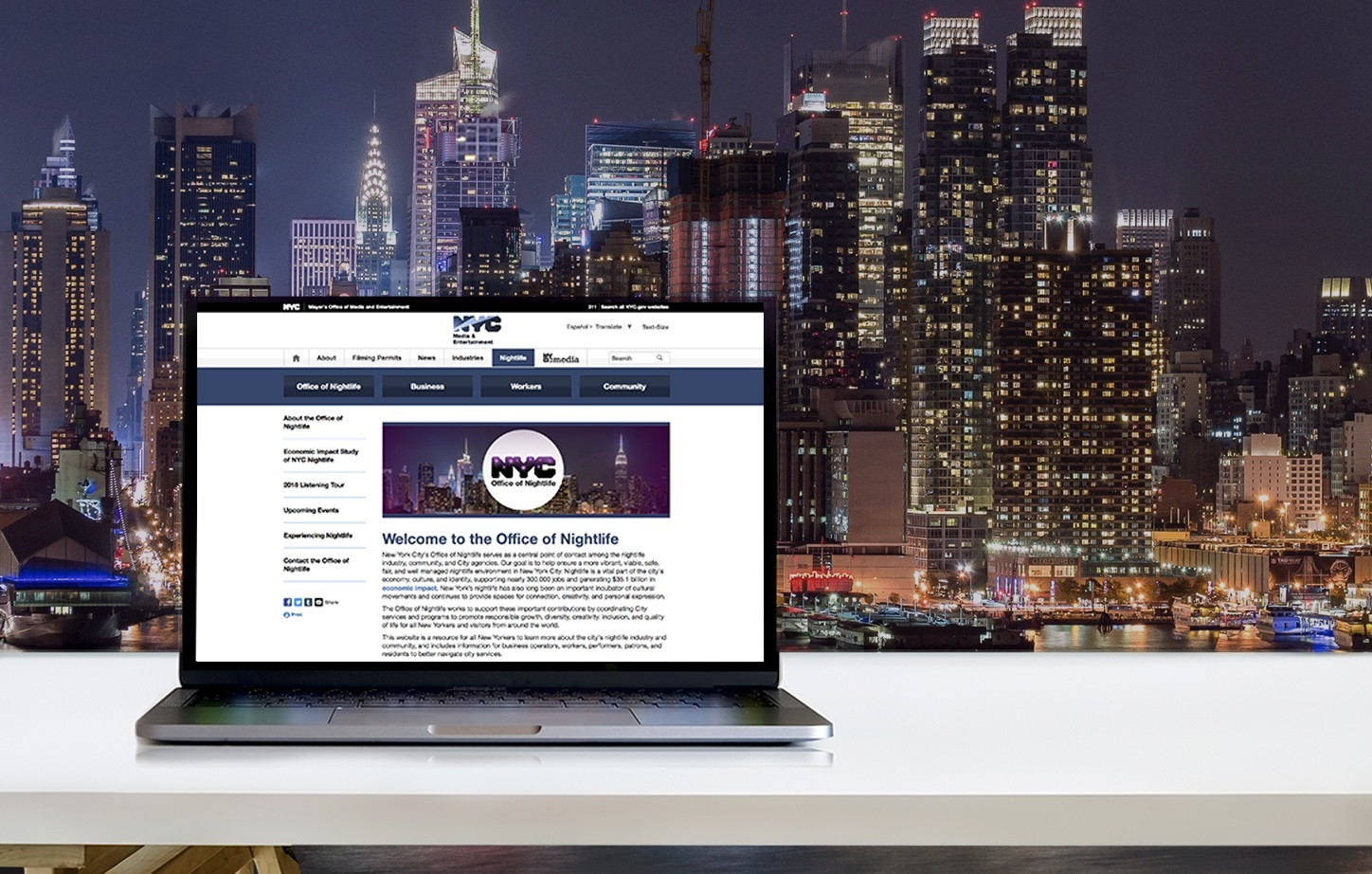 New Office Of Nightlife Website Has Launched