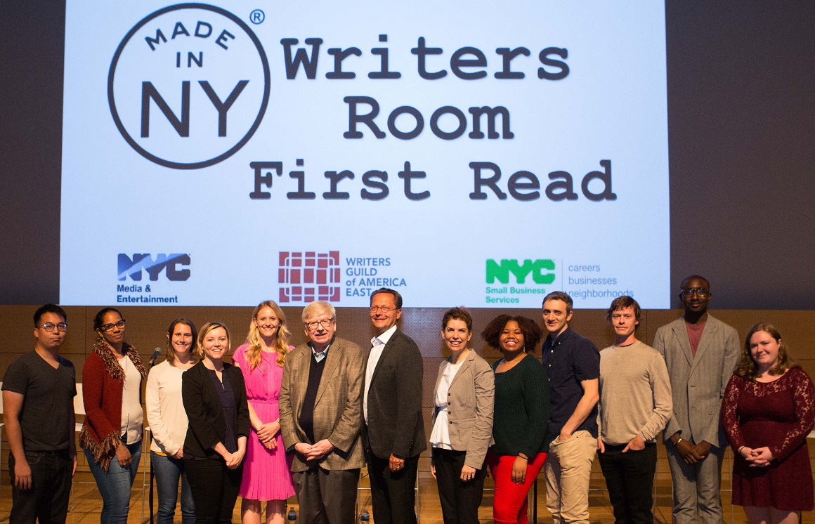 Made in NY Writers Room Fellows Announced