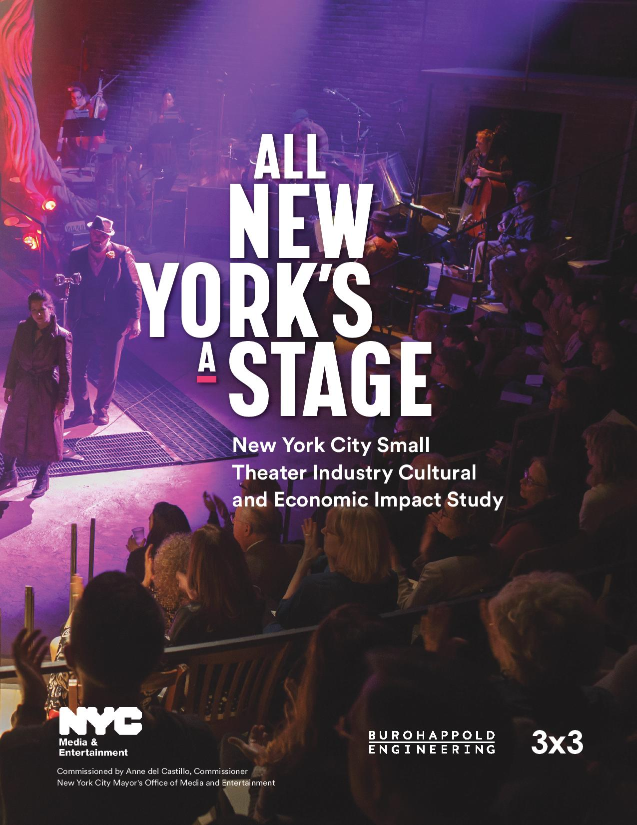 Small Theater Industry Cultural and Economic Impact Study