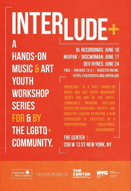 INTERLUDE+ Music Workshop for LGBTQ Youth