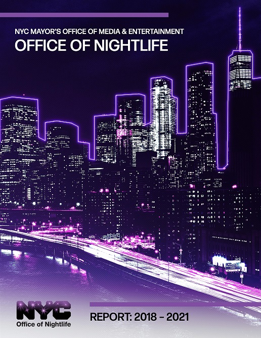 NYC Office of Nightlife Report 2018-2021