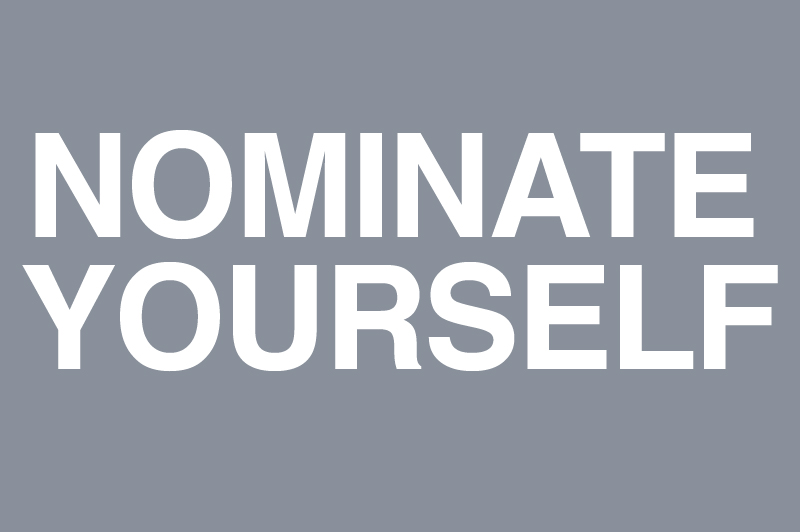 nominate yourself