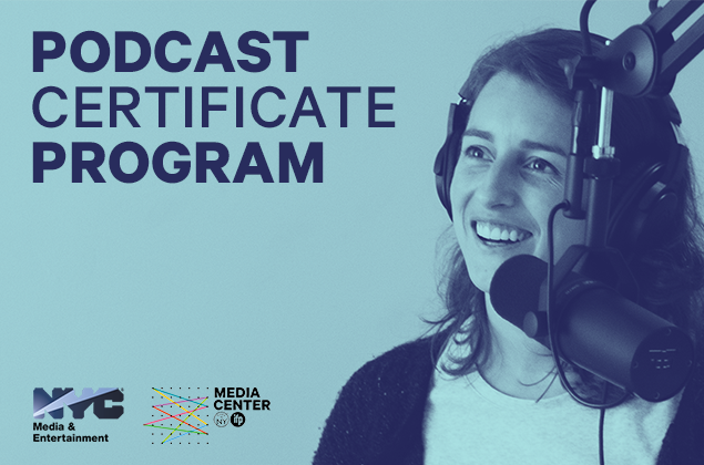 PODCAST CERTIFICATE PROGRAM