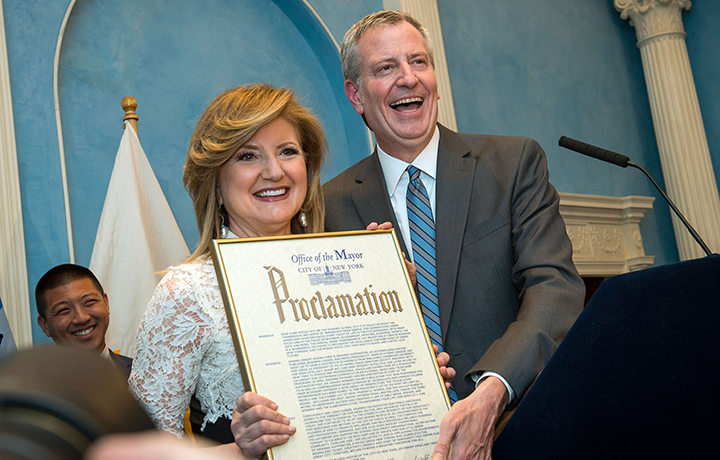 In honor of Greek Independence Day, Mayor Bill de Blasio hosted a reception to recognize the significant contributions the Greek community has made to New York City