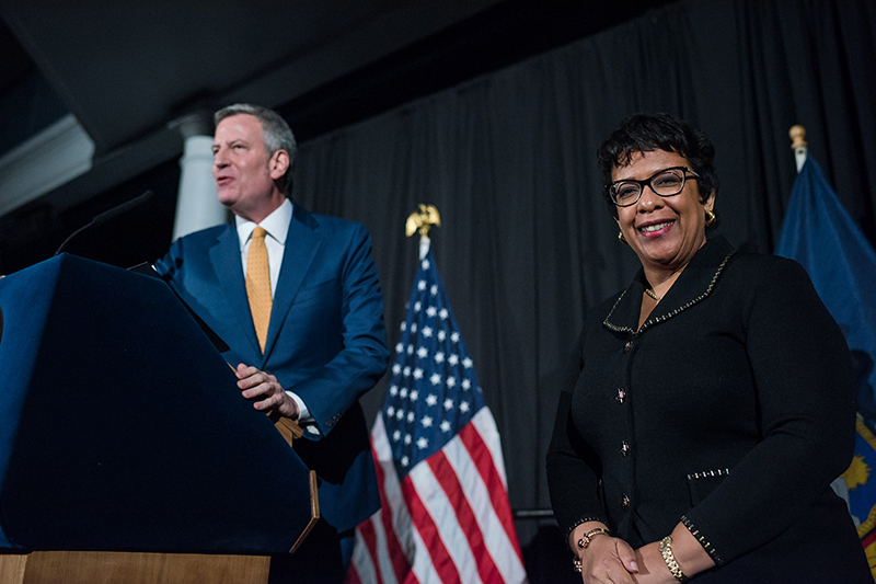 Attorney General Lynch was honored at the Black History Month Reception for being the first African American female attorney general