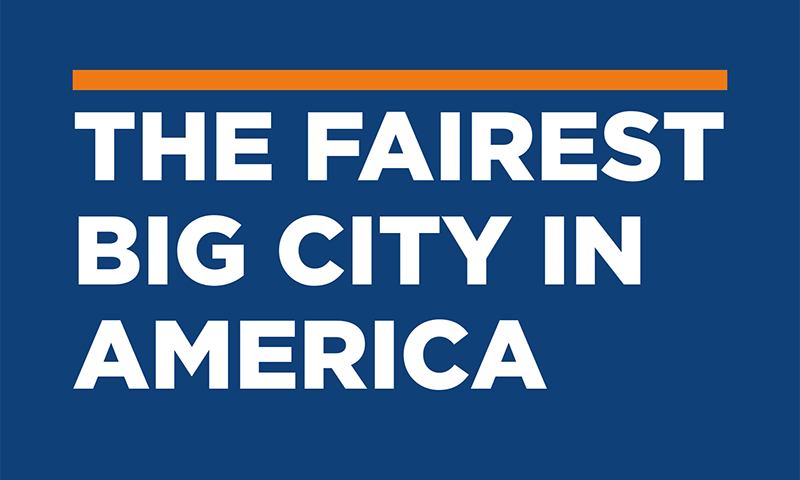 "Cover of ""The Fairest Big City in America"""