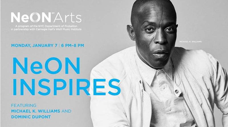 NeON Inspires: Featuring Michael K. Williams and Dominic Dupont