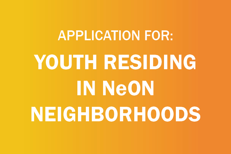 an image link reading application for: youth residing in neon neighborhoods