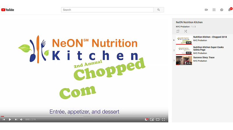 NeON Nutrition Kitchen Playlist