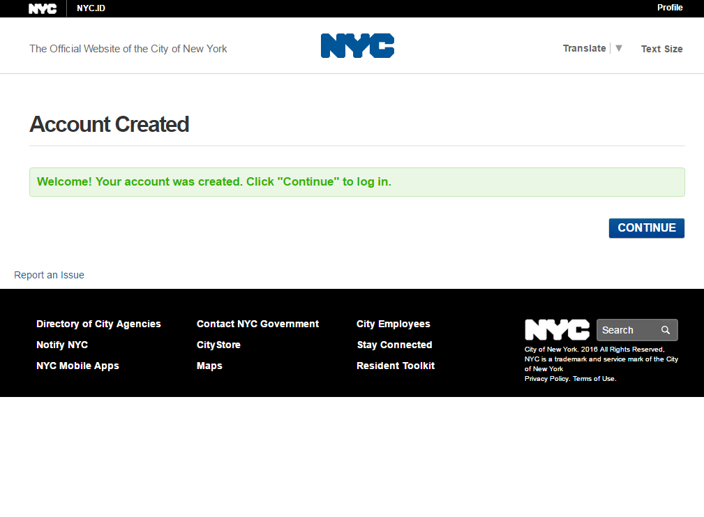 Release Notes - NYC ID - NYC4D