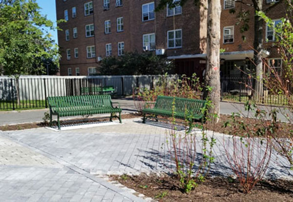 New stormwater-friendly walkways and plazas also deliver cleaner waterways