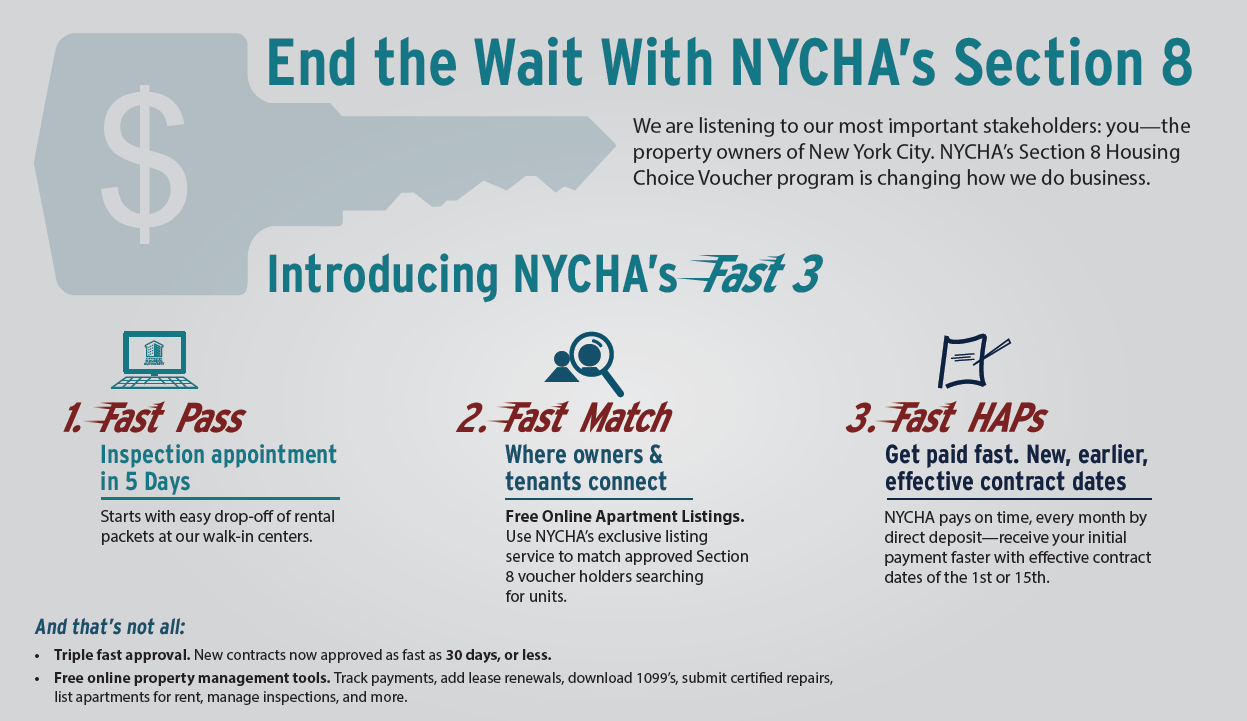 End the Wait With NYCHA's Section 8 /></div>