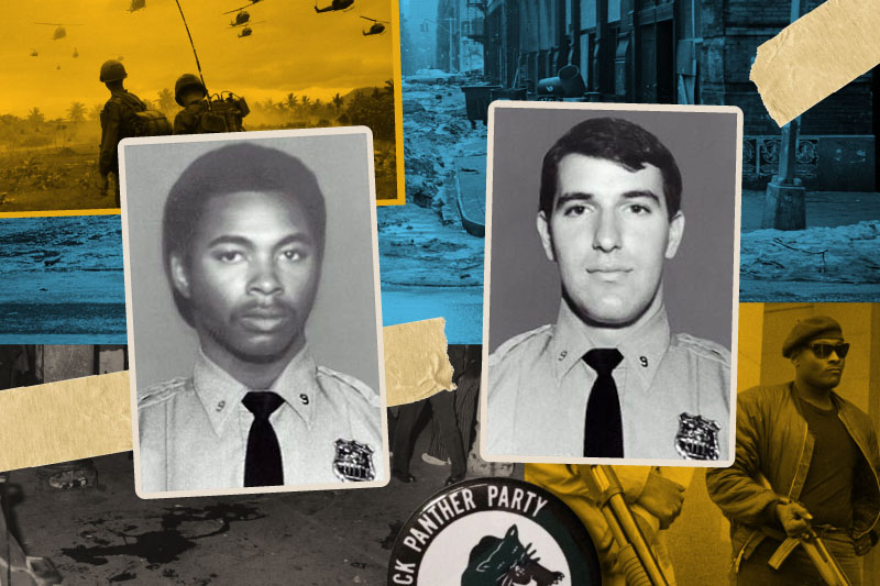 Department pictures of Officers Gregory Foster & Rocco Laurie