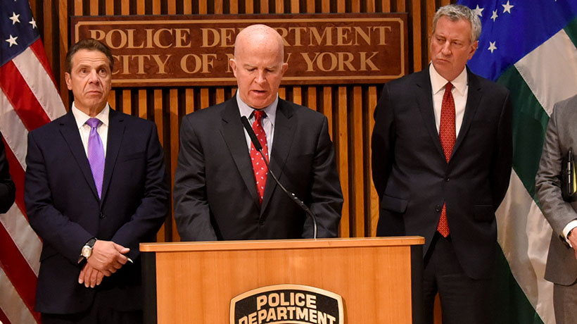 Police Commissioner's Remarks at West Side Terror Attack Update Press Conference