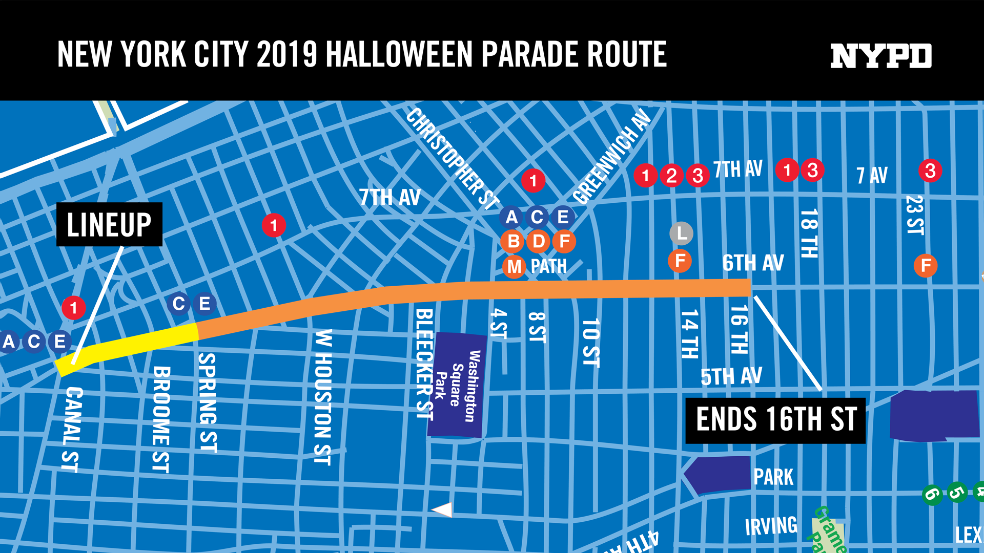 Nyc Halloween Parade Route 2020 Halloween Parade 2019 | City of New York