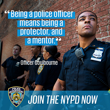 NYPD Recruitment Instagram link image