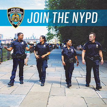 NYPD Recruitment Twitter link image