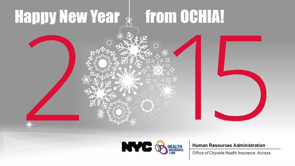 Season's Greetings from OCHIA