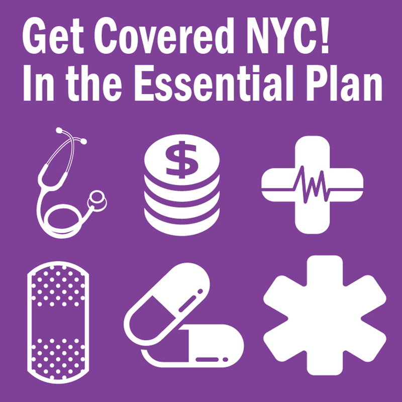 The Essential Plan Get Covered NYC! report cover