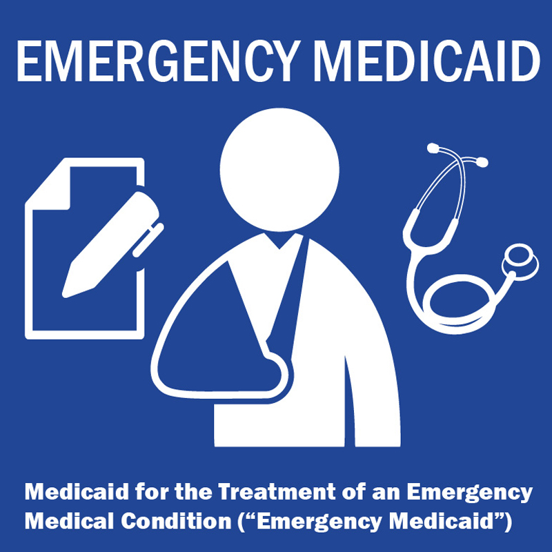 Emergency Medicaid logo
