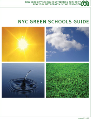 NYC Green Schools Guide Cover