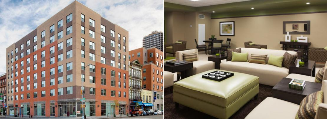 East 125th Street Development, Exterior and Interior