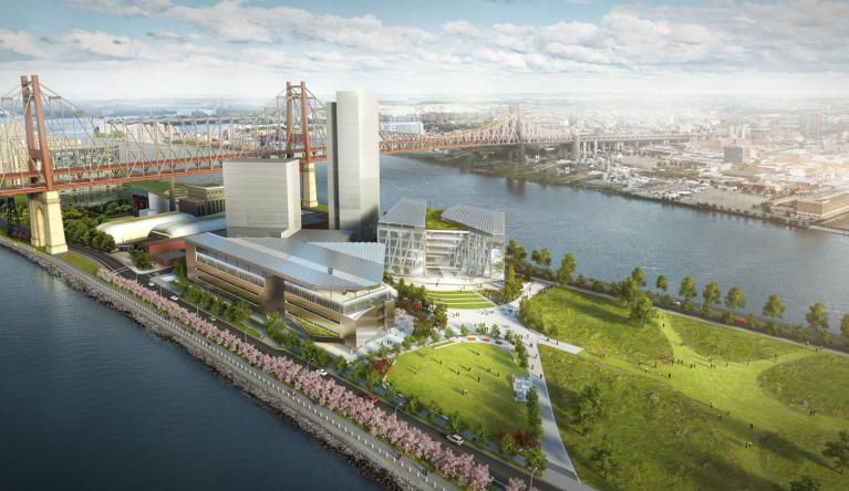 Cornell NYC Tech Project Rendering