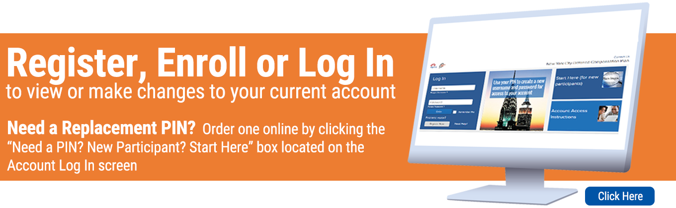Register, Enroll or Log In to Your Account