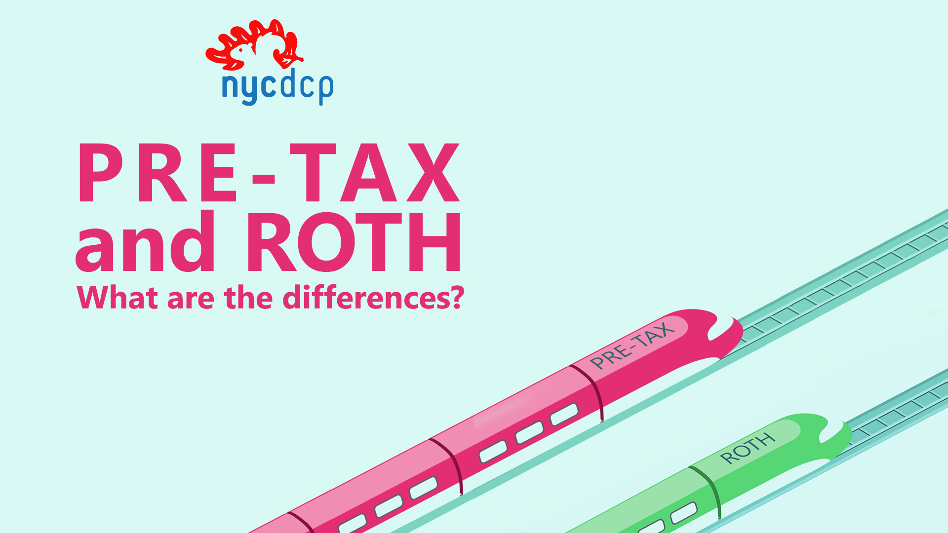 Differences between Pre-Tax and Roth